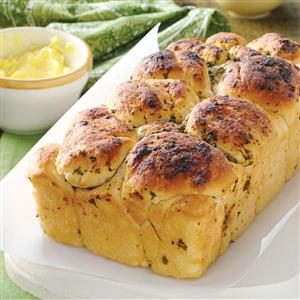 Garlic Bubble Loaf Recipe