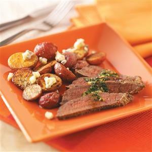 Garlic-Butter Steak