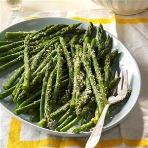 Garlic Parmesan Asparagus Recipe