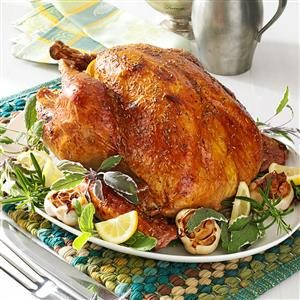 Garlic Rosemary Turkey Recipe