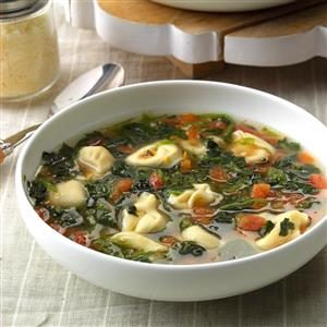 Garlic Tortellini Soup Recipe