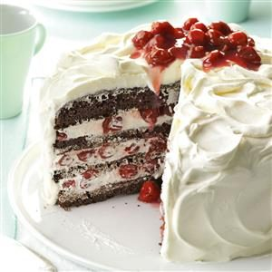 European Week: Black Forest Tart