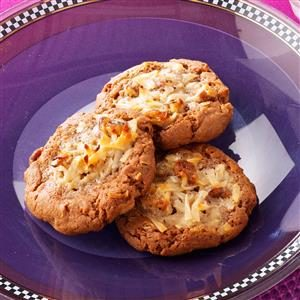 German Chocolate Thumbprint Cookies Recipe