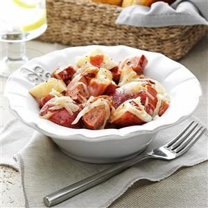 German Potato Salad with Sausage Recipe