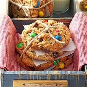 Giant Monster Cookies Recipe
