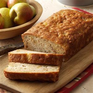 Ginger-Almond Pear Bread Recipe