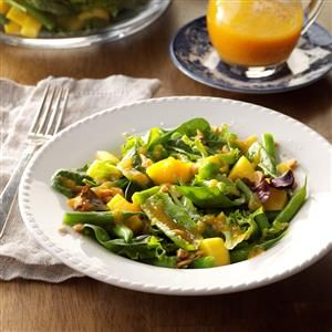 Ginger-Apricot Tossed Salad Recipe