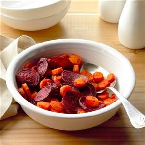 Ginger Beets and Carrots Recipe
