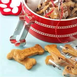 Ginger Dog Biscuits Recipe
