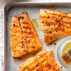 Ginger-Glazed Grilled Salmon Recipe
