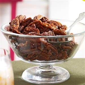 Ginger-Maple Roasted Pecans Recipe