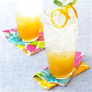 Ginger-Orange Refresher Recipe