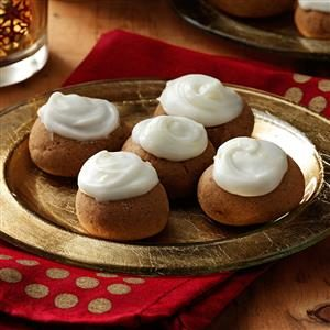 Gingerbread Cookies with Lemon Frosting Recipe
