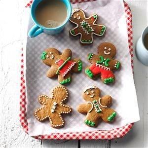 Gingerbread Men Cookies Recipe