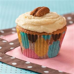 Gingered Maple Cupcakes Recipe