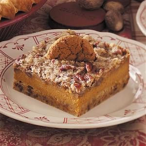 Gingersnap-Pumpkin Dessert Recipe