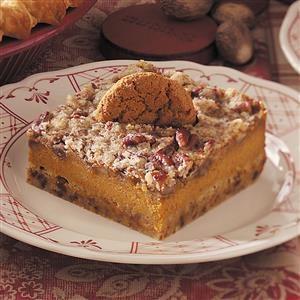 Gingersnap-Pumpkin Dessert Recipe