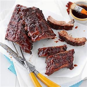 Glazed BBQ Ribs Recipe