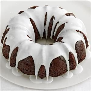 Glazed Gingerbread Cake Recipe