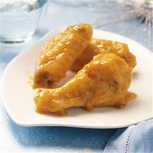 Glazed Orange Chicken Wings Recipe