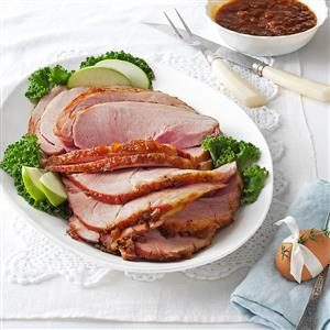 Glazed Pineapple Ham