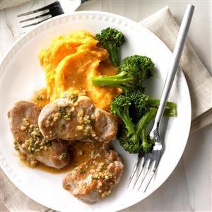 Glazed Rosemary Pork Recipe