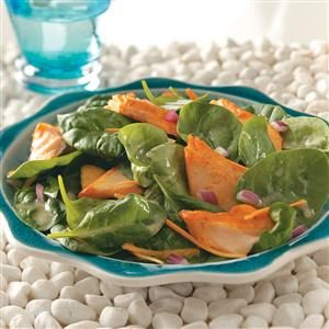 Glazed Salmon Salad Recipe