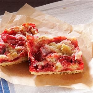 Gluten-Free Rhubarb Bars Recipe