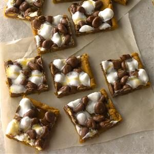 Gooey Chocolate-Peanut Bars Recipe
