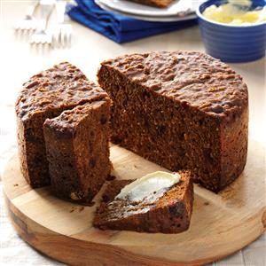 Gooey Old-Fashioned Steamed Molasses Bread Recipe