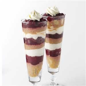 Graham Cranberry Parfaits Recipe