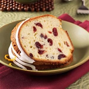 Grand Marnier Cranberry Pound Cake Recipe