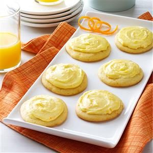 Grandma Brubaker's Orange Cookies Recipe