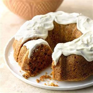 Grandma's Carrot Cake Recipe