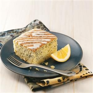 Grandma's Lemon Poppy Seed Cake Recipe