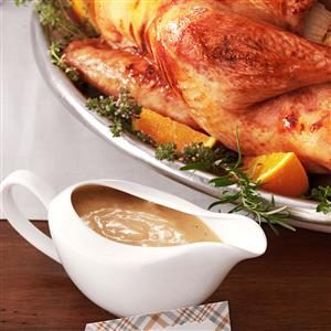Grandma's Turkey Gravy Recipe