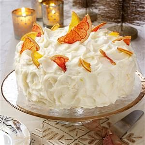 Grapefruit Layer Cake Recipe