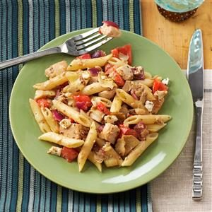 Greek Chicken Penne Recipe