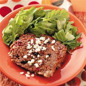 Greek Meat Loaves Recipe