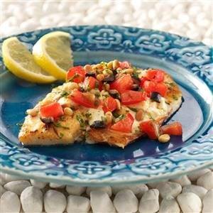 Greek Tilapia Recipe