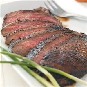 Grilled Asian Flank Steak Recipe | Taste of Home