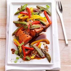 Grilled Asian Salmon Packets