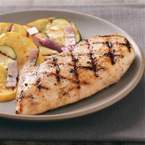 Grilled Caesar Chicken Breasts