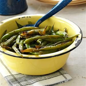 Grilled Cajun Green Beans Recipe