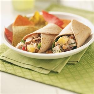 Grilled Chicken Salad Wraps Recipe