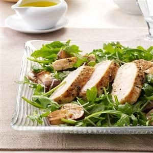 Grilled Chicken with Arugula Salad Recipe