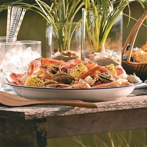 Grilled Clam Bake Recipe