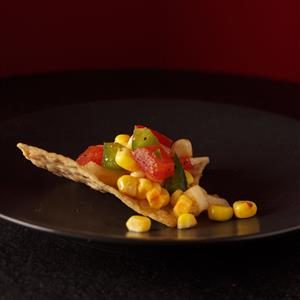 Grilled Corn and Tomato Salsa Recipe