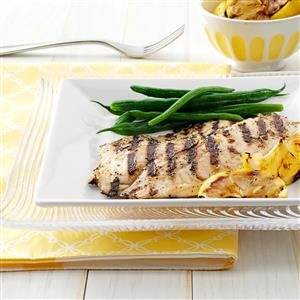 Grilled Greek Fish Recipe