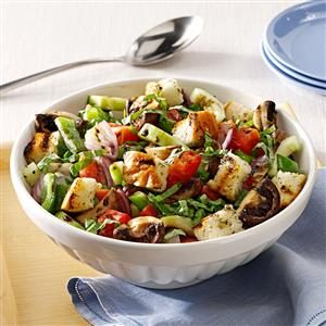 Grilled Lebanese Salad Recipe